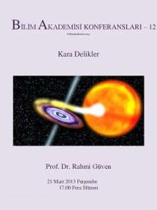 Kara Delikler - Konuşmacı : Prof. Dr. Rahmi Güven