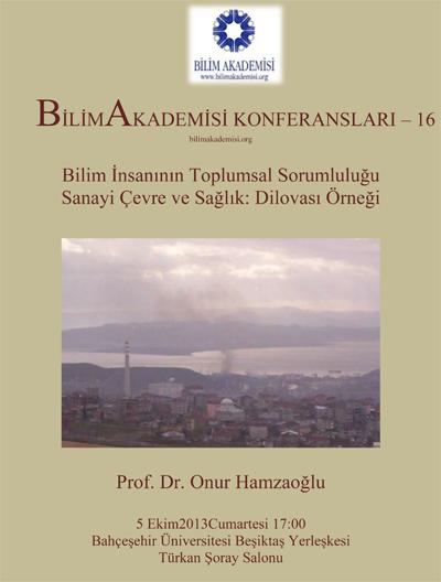 BİLİMAKADEMİSİ KONFERANSLARI – 16