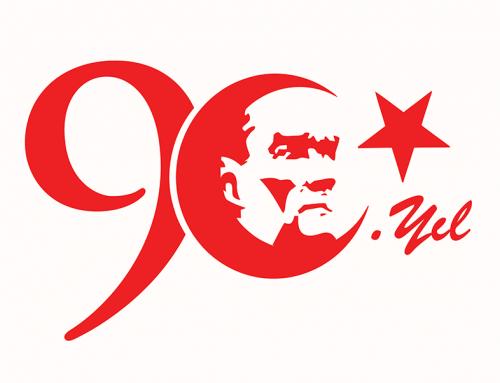 Türkiye Cumhuriyetinin 90. yılını kutluyoruz.