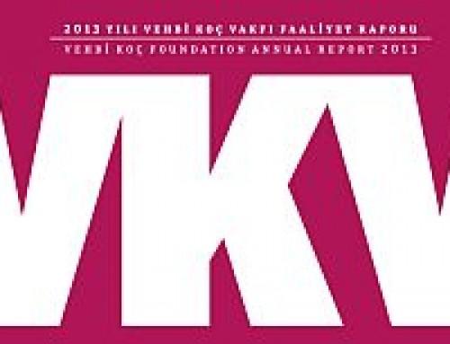 Vehbi Koç Vakfı 2013 Yılı Faaliyet Raporunda BAGEP Ödülleri Yer Aldı