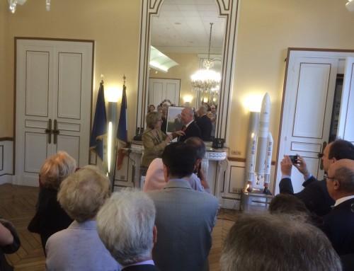 Bilim Akademisi Üyesi Erol Gelenbe'ye Chevalier de la Légion d'Honneur Ünvanı