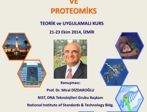 """Bilim Akademisi üyesi Prof. Miral Dizdaroğlu'nun konuşmacı olduğu """"DNA Hasarı, DNA Onarımı ve Proteomiks"""" başlıklı kurs"""