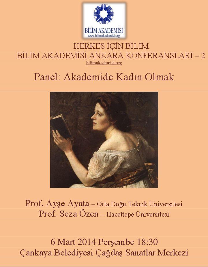 Akademide Kadın Olmak – Konuşmacılar: Prof. Ayşe Ayata ve Prof. Seza Özen