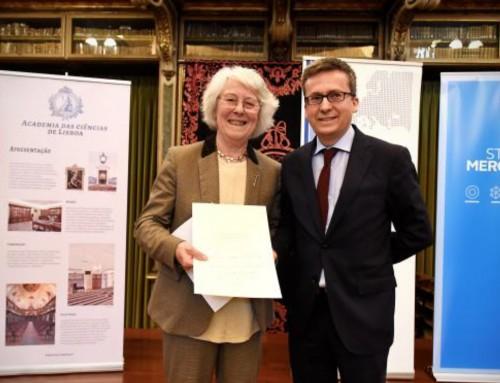 Bilim Akademisi Onursal Üyesi Prof. Dame Helen Wallace ALLEA Madame de Stael Kültürel Değerler Ödülünü Aldı