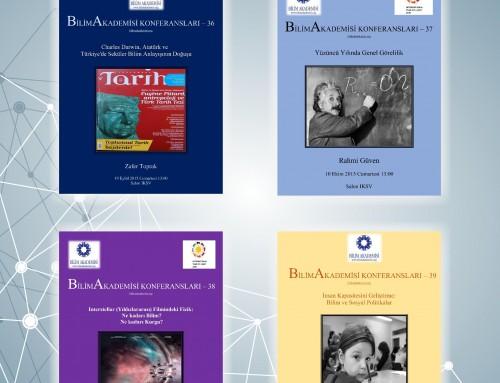2015 Güz Dönemi Bilim Akademisi Konferansları