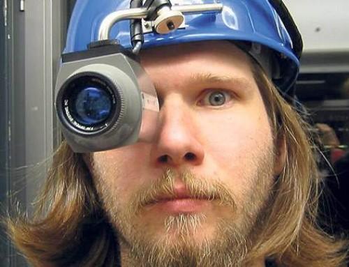 Mete Atatüre Işık Seviyesinin Gürültü Ölçümü'nü Gerçekleştirdi