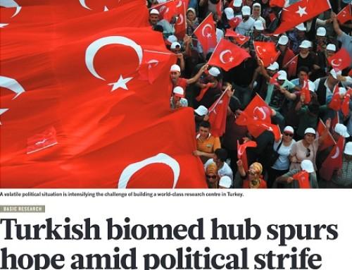 İzmir Biyotıp ve Genom Merkezi Nature Dergisine Konu Oldu