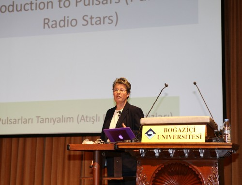 Pulsarları Keşfeden Prof. Jocelyn Bell Burnell (Hürriyet, 13.02.2016)