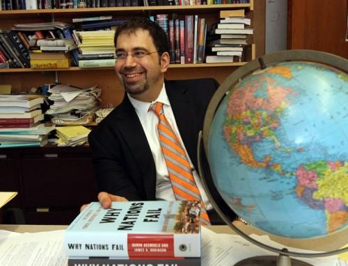 Daron Acemoğlu'na BBVA  Bilginin Öncüleri Ödülü