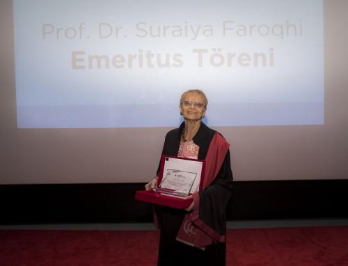 Bilim Akademisi Onursal Üyesi Suraiya Faroqhi'ye Emeritus Profesörlük Ünvanı