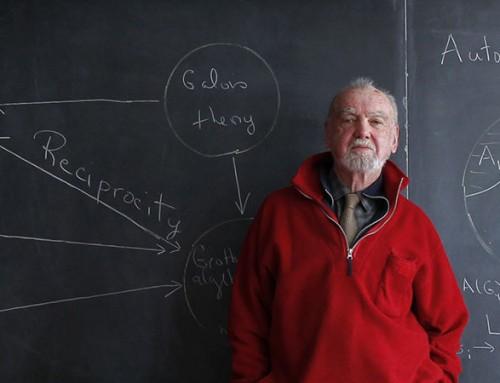 Robert Langlands'e 2018 Abel Ödülü