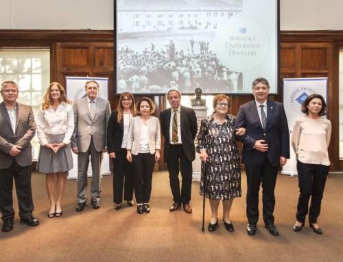 Ayşe Buğra ve Cem Yalçın Yıldırım'a Boğaziçi Üniversitesi Ödülü