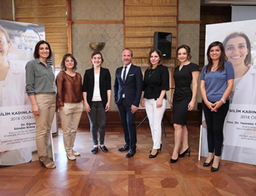 BAGEP Ödülü sahiplerine 2018 UNESCO-L'Oréal Bursu