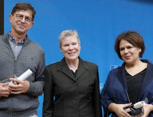 Türkan Haliloğlu'na NATO Barış ve Güvenlik için Bilim İşbirliği 2018 Ödülü