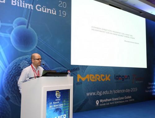 Tamer Önder'e IBG Bilim Madalyası