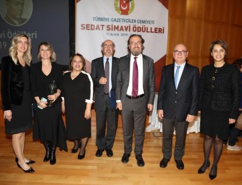 Turgay Dalkara ve Alp Can'ın da bulunduğu Ekibe 2019 Sedat Simavi Sağlık Bilimleri Ödülü