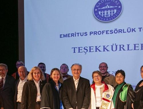 """Önder Pekcan'a """"Emeritus Profesör"""" Ünvanı"""