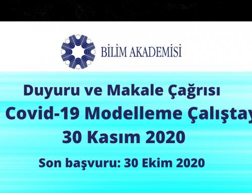 II. COVID-19 Modelleme Çalıştayı, 30 Kasım 2020